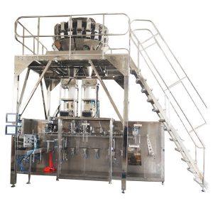 Granules জন্য মাল্টিহেড আইশের সঙ্গে অনুভূমিক প্রাক-তৈরি প্যাকিং মেশিন
