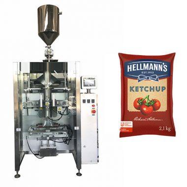 500g-2kg কেচুপ sauces প্যাকেজিং মেশিন